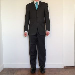 Gray Burberry Suit from Barney's New York